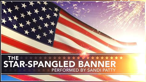 The Star Spangled Banner (With Lyrics) - YouTube