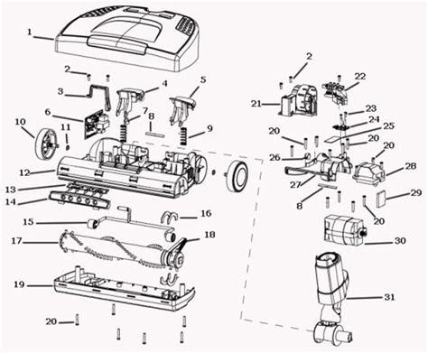 Electrolux Ela Power Nozzle Parts Diagram