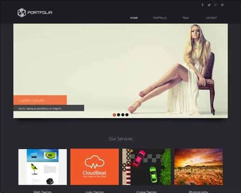 25 Free Muse Templates Creative Website Themes And Free And Premium Responsive Adobe Muse Templates