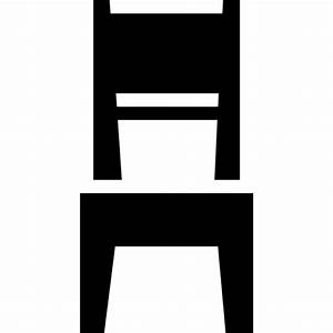 Dining room chair Icons Free Download