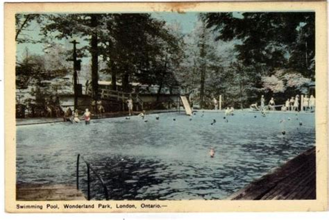 wonderland gardens pool   london ont