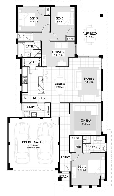 different house plans beautiful unique 3 bedroom house plans home plans design