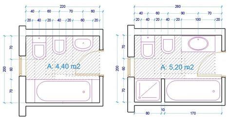 esempio dimensioni sanitari bagno con vasca Ergonomia