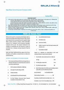 Bajaj Allianz Two Wheeler Insurance Duplicate Copy Pdf