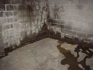 Tackling chronic water seepage in your basement for Water coming up from basement floor