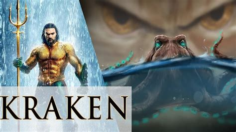 aquaman  kraken karathen dceu greek mythology