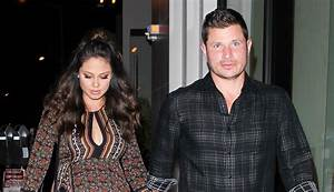 Nick Lachey & Pregnant Wife Vanessa Hold Hands for Date ...