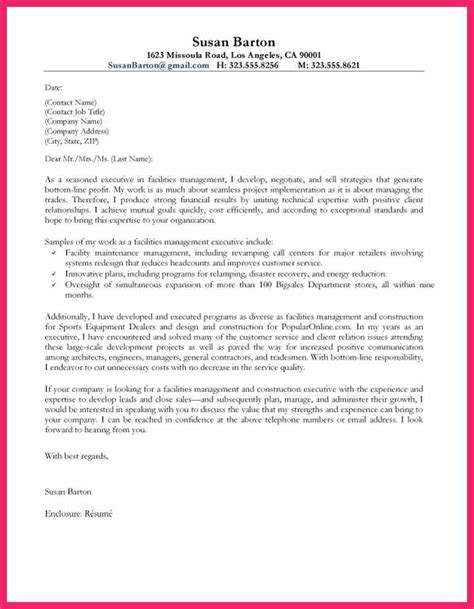 Unique Cover Letter by Great Cover Letter Exles Bio Letter Format