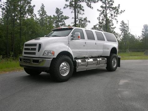 white ford f 650 xuv 212 820 f six50 ford