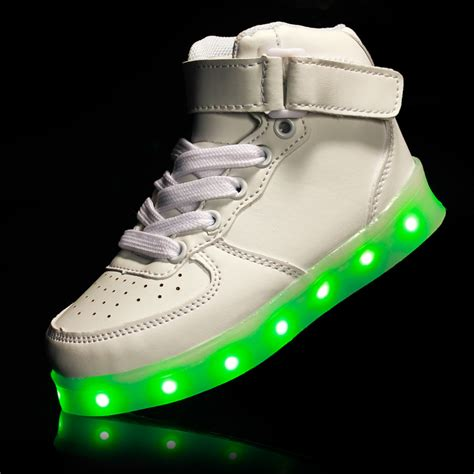 kids sneakers with lights 2017 children usb charging wing sneakers kids led luminous