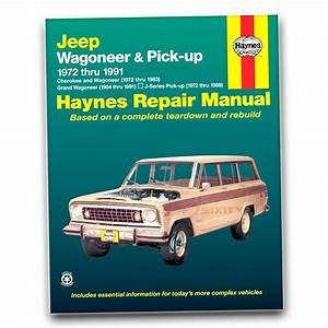 Haynes Repair Manual For Jeep J10 Base Shop Service Garage
