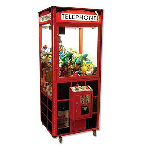 telephone plush crane  claw machine dba game room guys