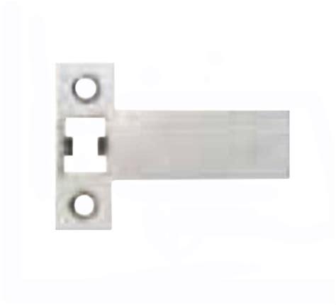 zanda ss extended strike plate satin stainless steel mm  shipping scl locks keeler hard
