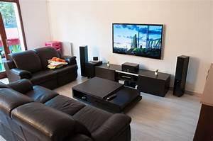 Meuble Tv Accroché Au Mur : installer sa tv au mur conseils astuces et photos page 179 29883755 sur le forum ~ Preciouscoupons.com Idées de Décoration