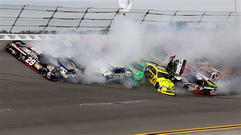 Mega Nascar Crash Compilation 100+ Crashes!