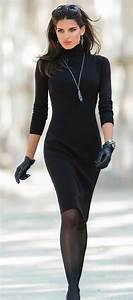 10 outfits para las chicas que aman vestir de negro | Un tip para la mujer actual!