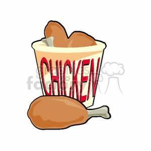 Fried Chicken Dinner Clipart (60+)