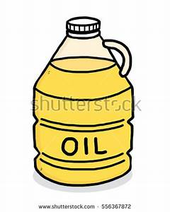 Drawn bottle cooking oil - Pencil and in color drawn ...