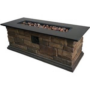 Rustic Fireplace Tools by Shop Bond Canyon Ridge 20 In W 50 000 Btu Stone Look