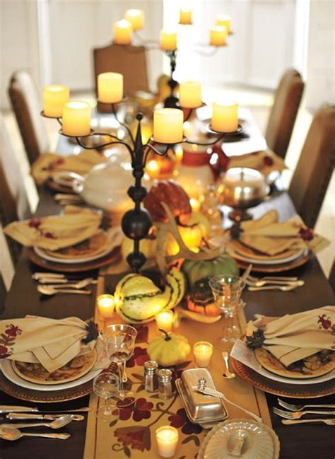 thanksgiving dinner table ideas 20 gorgeous and awesome thanksgiving table decorations