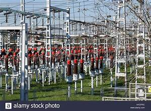 Wooden Power Pole Lines Insulators Stock Photos & Wooden ...
