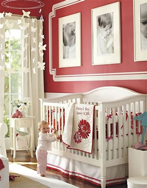 pottery barn baby wall decor 23 ideas to paint nursery walls in bright colors kidsomania