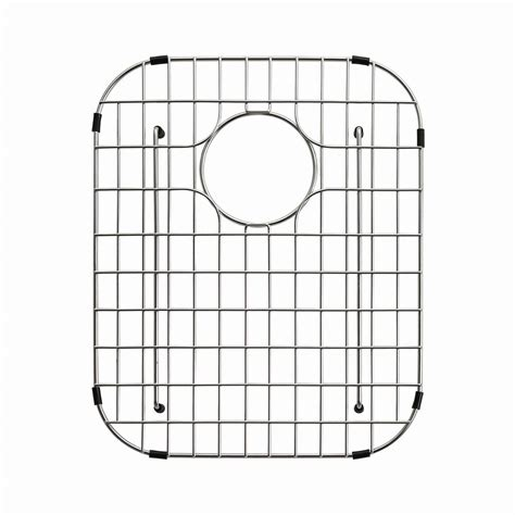 Stainless Steel Sink Grid 24 X 12 by Kraus 14 In X 17 In Bottom Sink Grid In Stainless Steel
