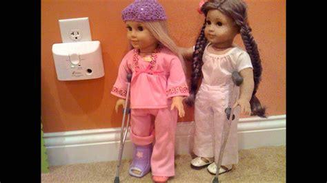 american girl doll hospital youtube