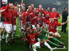 Kings of Europe 2008 Manchester United Wallpaper
