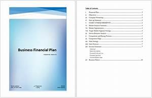 business financial plan template microsoft word templates With business link business plan template