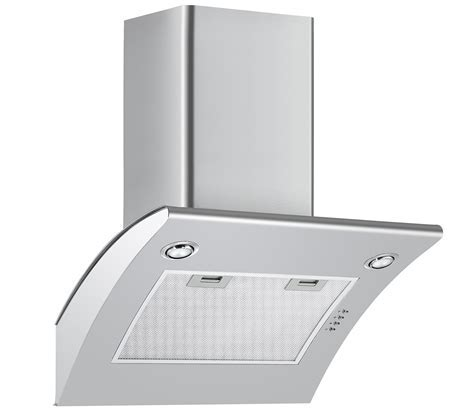Cookology ARCH600SS 60cm Extractor Fan   Angled Stainless