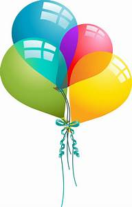 Happy birthday balloons clip art images and vector ...