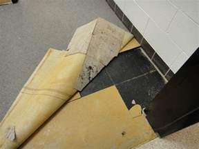 asbestos floor tile mastic under carpet abatement flickr