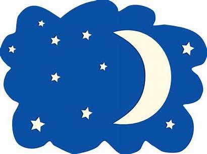 Moon Night Clipart Stars Clip Clipground