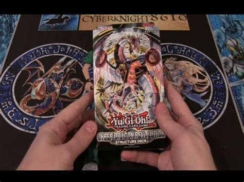 yugioh cyber dragon revolution structure deck opening