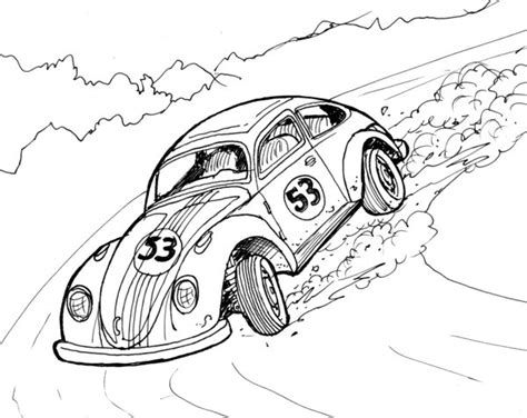 Herbie Coloring Pages Democraciaejustica