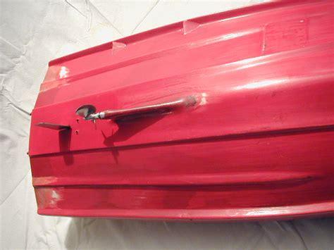 gfk boot wird restauriert rennboote powerboote rc
