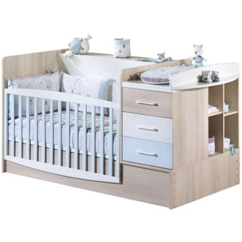 chambre transformable bébé lit bb volutif bleu transformable en lit combin