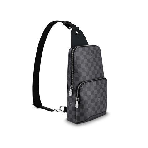 avenue sling bag damier graphite canvas bags louis vuitton