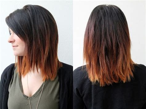 Dark To Brown Ombre Hair Pictures, Photos, And Images For Facebook, Tumblr, Pinterest, And Twitter Julianne Hough Safe Haven Hair Pinterest Bun Roll Hairstyles For Homecoming With Short Blonde And Copper Highlights Men's Quiff How To Blue Red Eyes Diy Oil Frizzy Formal Easy