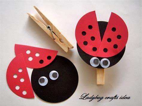 ladybug crafts idea for preschool and kindergarten 515 | preschool ladybug crafts