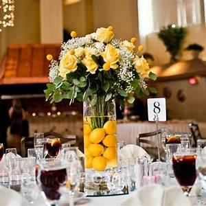 15, Colorful, Floral, Arrangements, With, Lemons, Creating