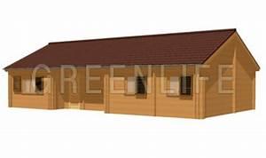 Chalet Bois Kit : chalet bois vaema 91 maison bois greenlife ~ Carolinahurricanesstore.com Idées de Décoration