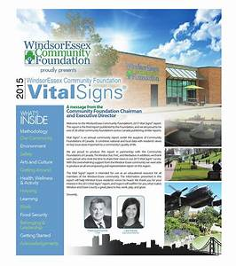 Windsor Essex Community Foundation Vital Signs 2015 by The ...