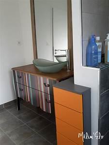 Diy Meuble Salle De Bain : d co mon meuble de salle de bain diy ~ Mglfilm.com Idées de Décoration