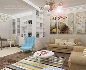 Design in stil shabby chic pentru o vila din Slobozia