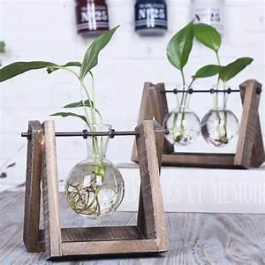 Bonsai Im Glas : 3 types moderne stijl glas tafelblad plant bonsai bloem bruiloft decoratieve vaas met houten ~ Eleganceandgraceweddings.com Haus und Dekorationen