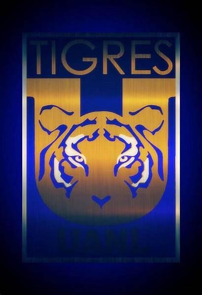 Tigres Uanl Wallpapers Champs Escudo Neon Logos