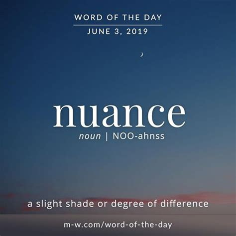 nuance word   day words   words fancy words