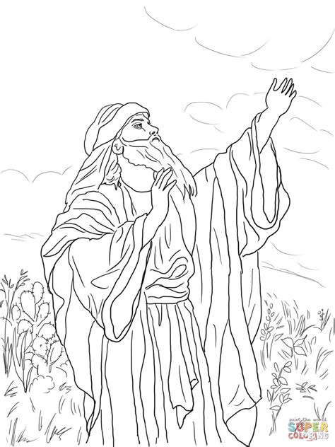isaiah coloring page  getcoloringscom  printable colorings pages  print  color